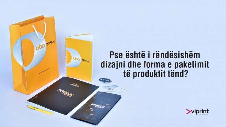 Pse është i rëndësishëm dizajni dhe forma e paketimit të produktit tënd?