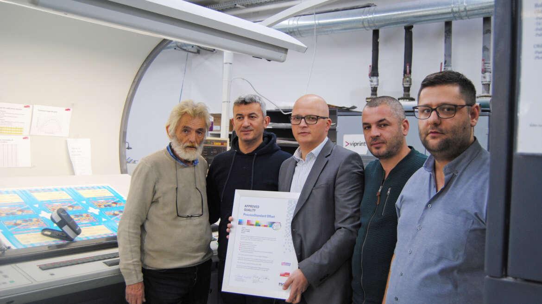 VIPRINT: kompania e parë në Kosovë, Shqipëri dhe Maqedoni Veriore e certifikuar nga FOGRA
